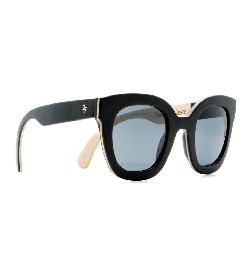 Ξύλινα Γυαλιά Gigi in Black Tulip