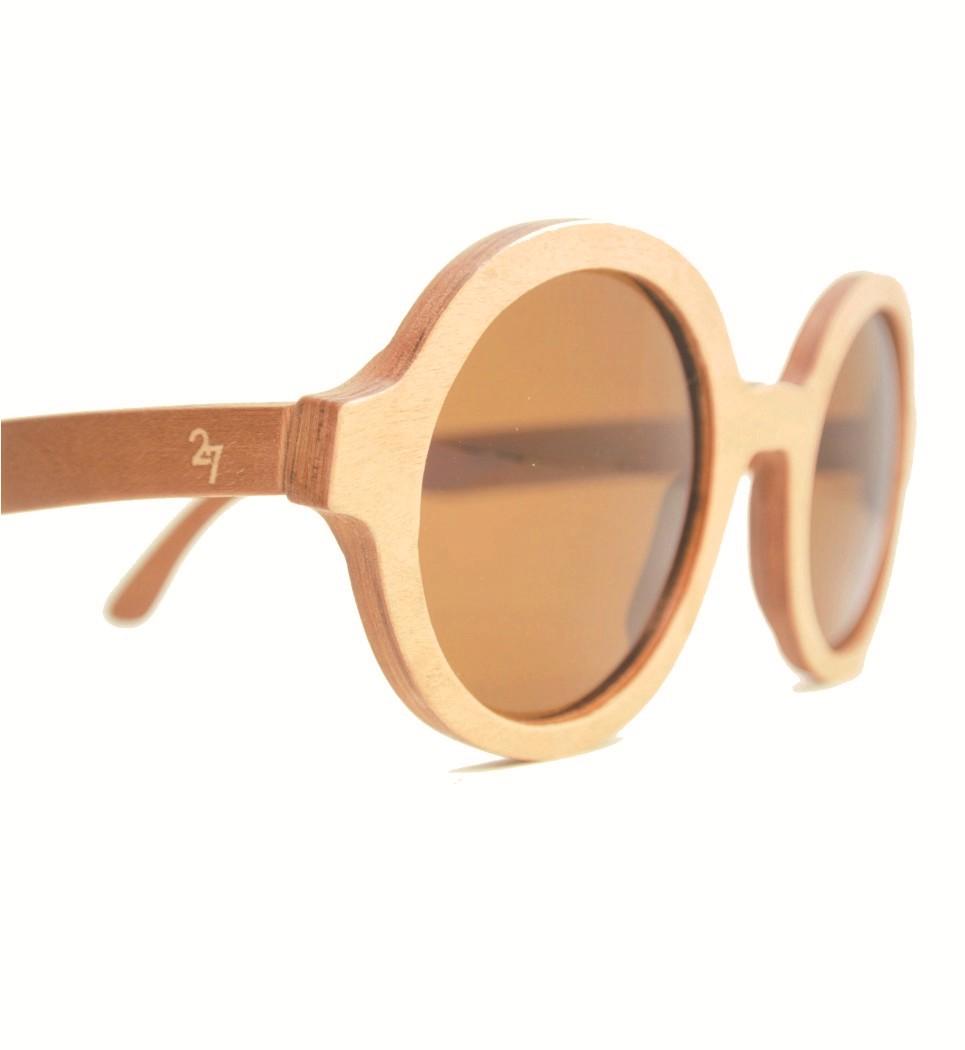 Ξύλινα Γυαλιά Marilyn in Pink Tulip