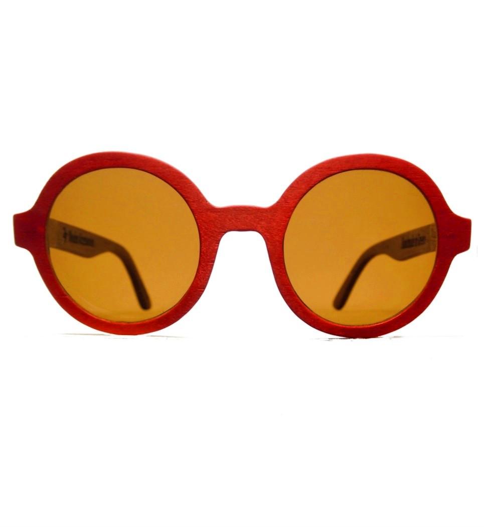 Ξύλινα Γυαλιά Marilyn in Red Tulip