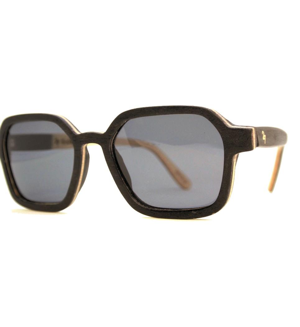 Ξύλινα Γυαλιά Gerber in Black Tulip
