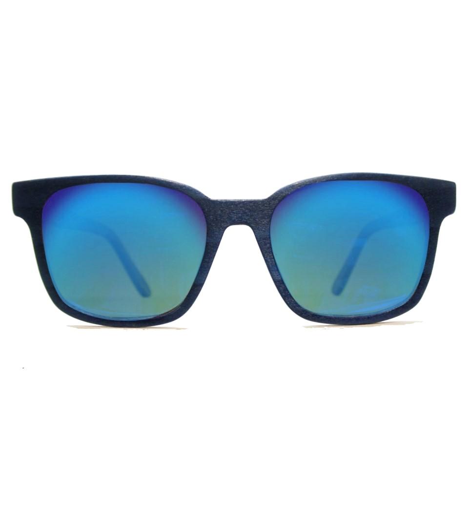 Ξύλινα Γυαλιά Clark in Blue Tulip