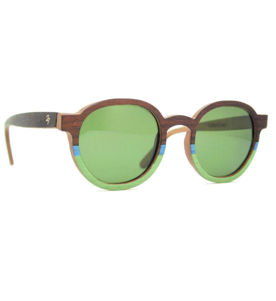 Ξύλινα Γυαλιά Billy in Rosewood and Colors