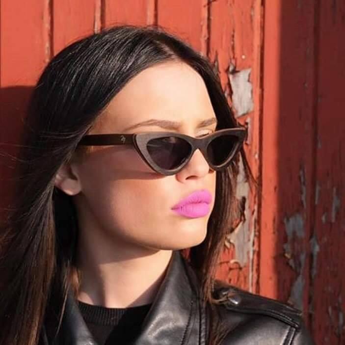 Ξύλινα Γυαλιά Lolita in Black Tulip