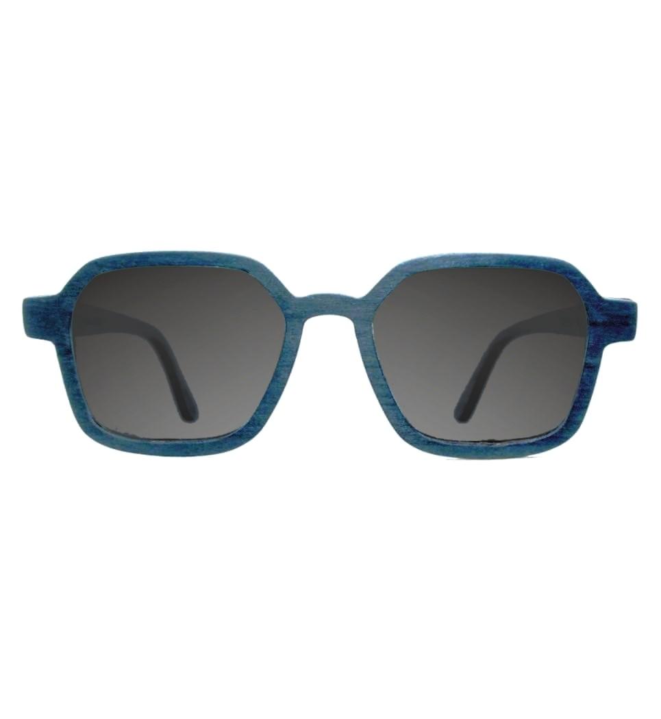 Ξύλινα Γυαλιά Gerber in Blue Tulip
