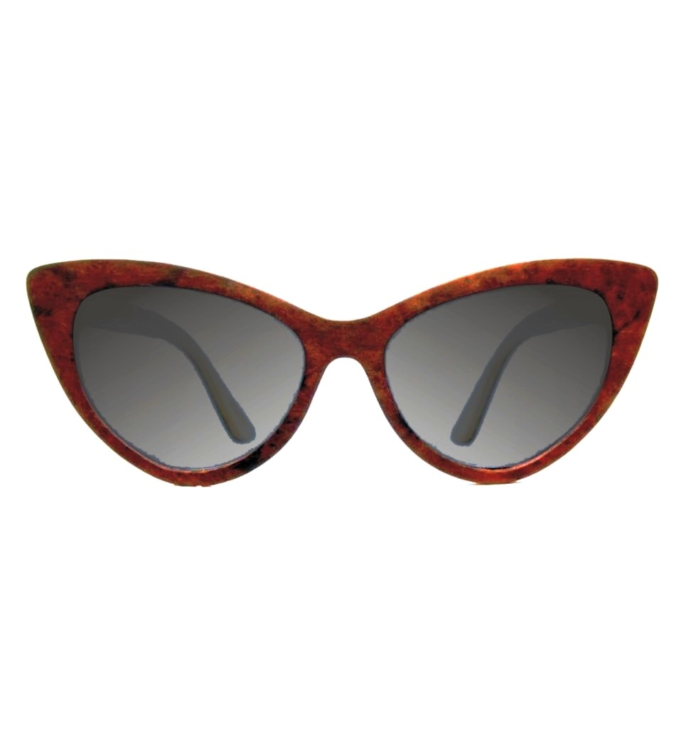 Ξύλινα Γυαλιά Rita in Burl