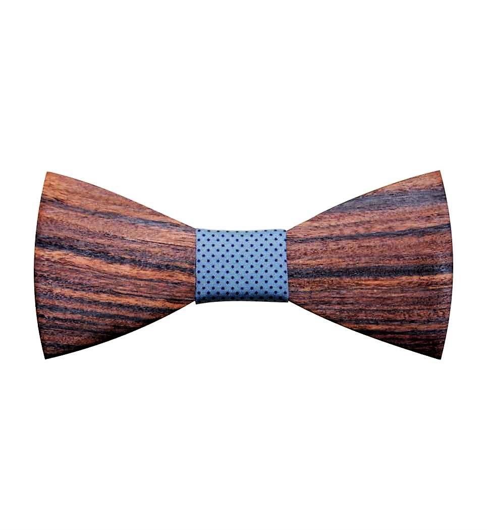 Ξύλινο Παπιγιόν Rosewood Curved