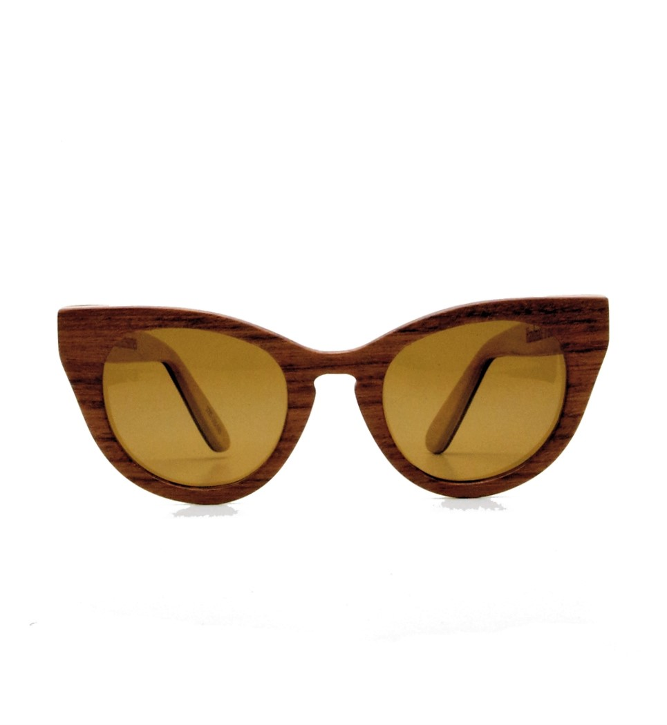 Ξύλινα Γυαλιά Audrey in Bubinga