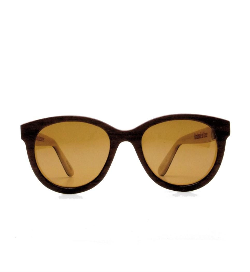 Ξύλινα Γυαλιά Brigitte in Rosewood