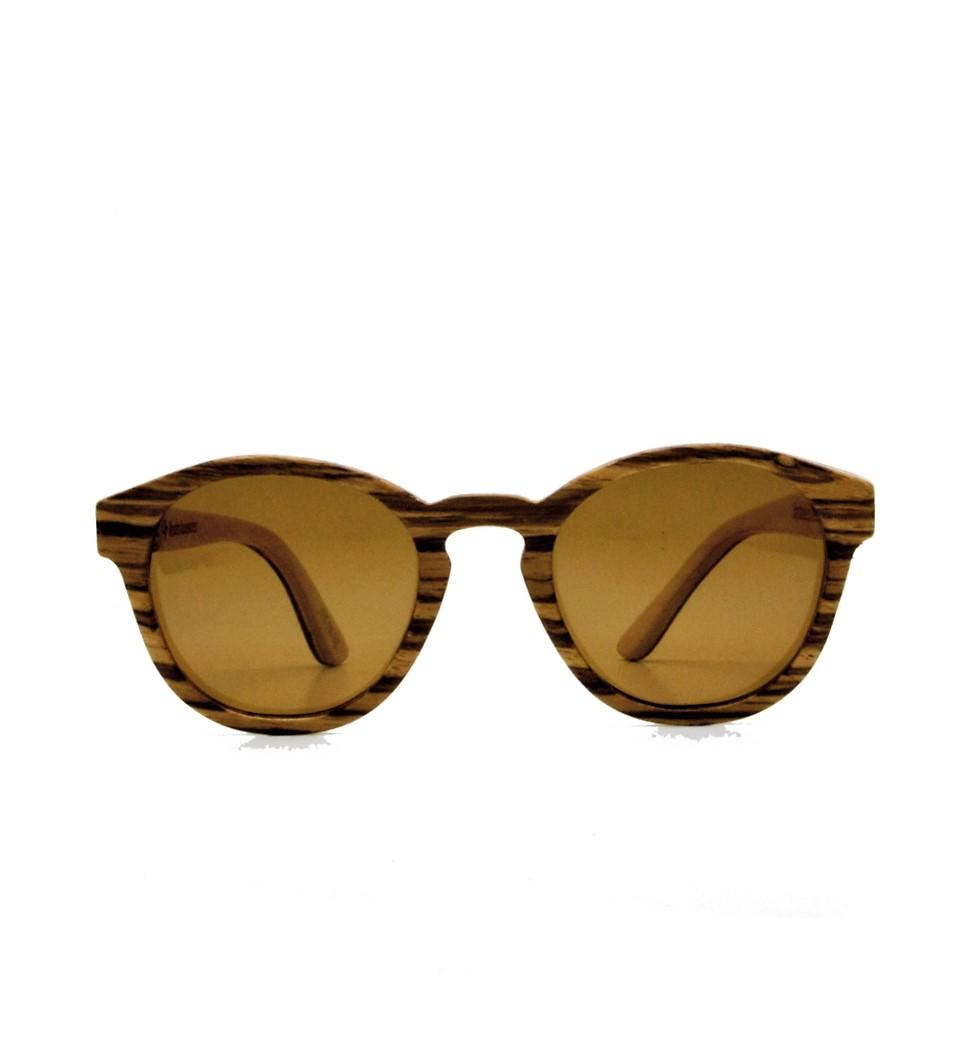 Ξύλινα Γυαλιά Louis in Zebrano
