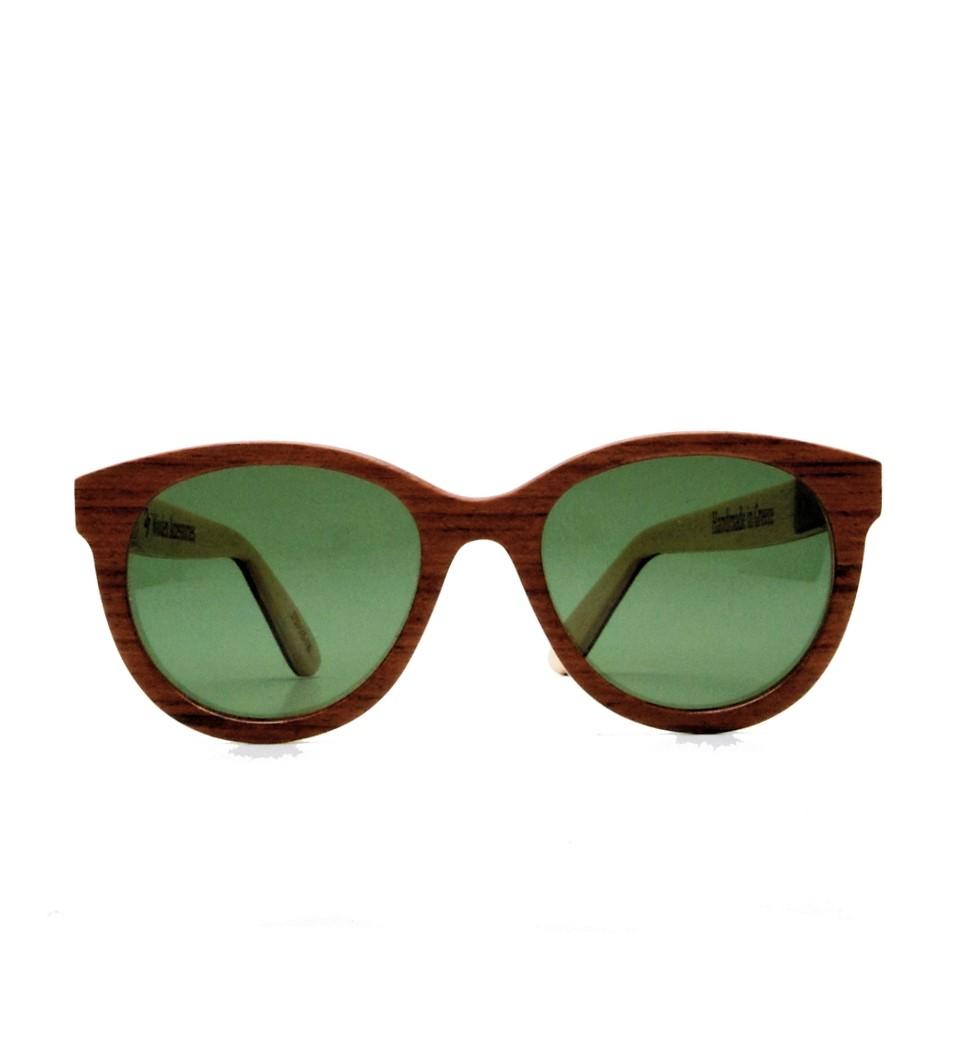 Ξύλινα Γυαλιά Brigitte in Bubinga