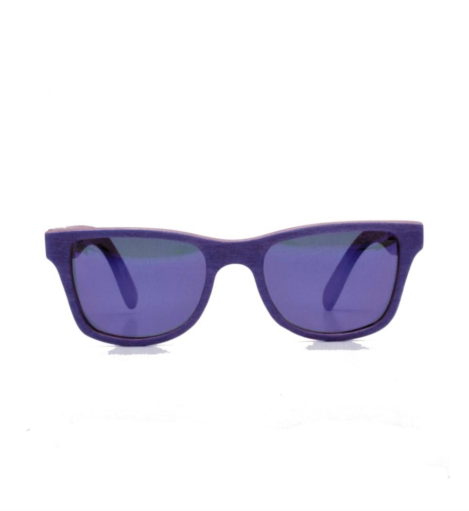 Ξύλινα Γυαλιά Gandy in Purple Tulip