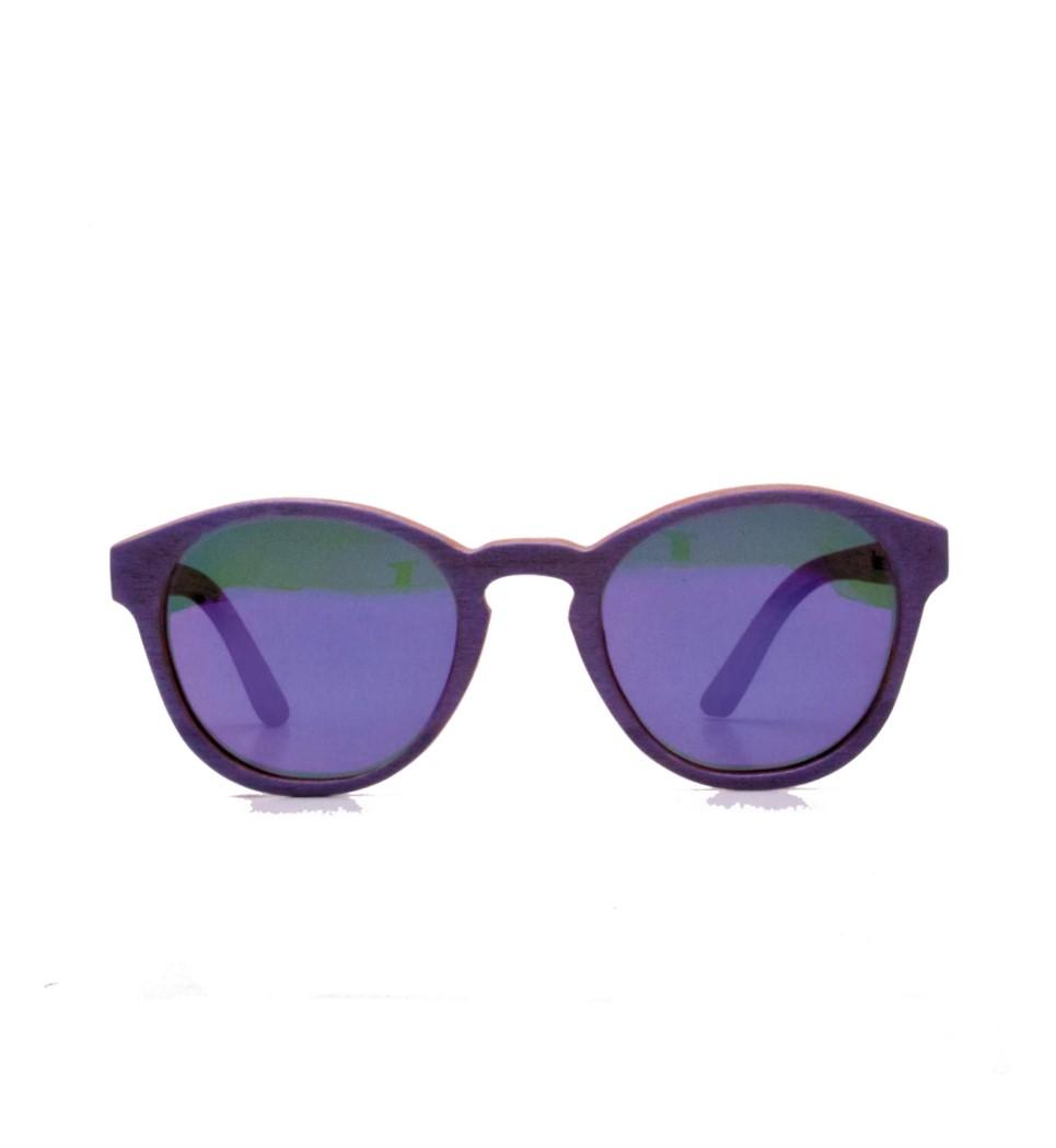 Ξύλινα Γυαλιά Louis in Purple Tulip